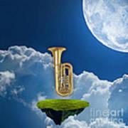 Tuba Dreams Art Print