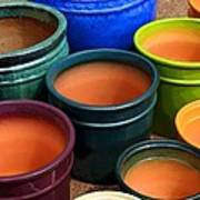 Tubac Pottery 2 Art Print