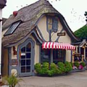 Tuck Box Tearoom - Carmel California Art Print
