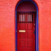 Tucson Doorway Art Print