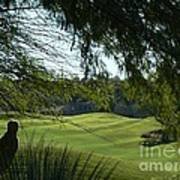 Tucson Foothills Golf Course Art Print
