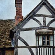 Tudor House Art Print