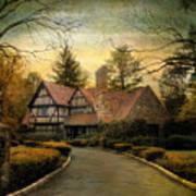 Tudor Road Art Print