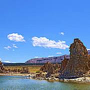 Tufa Rock At Mono Lake Art Print