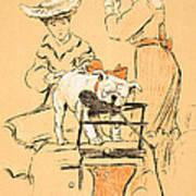 Tug Of War Art Print by Cecil Charles Windsor Aldin
