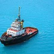 Tugboat At The Ready Art Print
