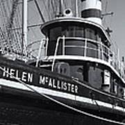 Tugboat Helen Mcallister II Art Print