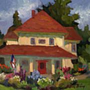 Tukwilla Farm House Art Print