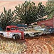 Tularosa Motors Art Print