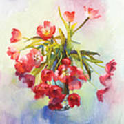 Tulip Fling Art Print