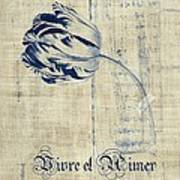 Tulip - Vivre Et Aimer S04t03t Art Print