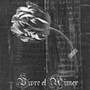 Tulip - Vivre Et Aimer S10t04t Art Print