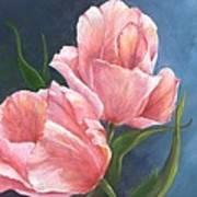 Tulip Waltz Art Print