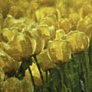 Tulips All Over Art Print