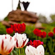 Tulips Ani Tsalagi Art Print