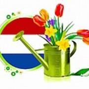 Tulips Eco Art Print