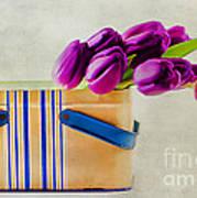 Tulips For Mom Art Print