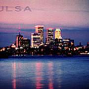 Tulsa Colors Art Print