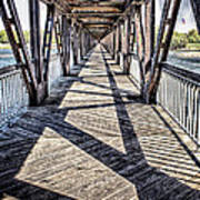 Tulsa Pedestrian Bridge Art Print