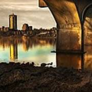 Tulsa Under Bridge 5 Art Print