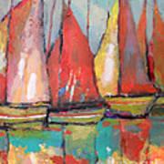 Tuna Boats Art Print by Kip Decker
