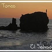 Tunco Card One Art Print