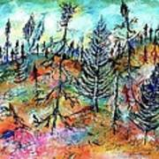 Quebec Taiga Landscape Art Print