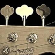 Fender Precision Bass Art Print