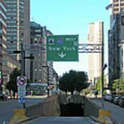 Tunnel To New York 2929 Art Print