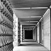Tunnel Vision Palm Springs City Hall  Art Print