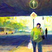 Tunnelblick Art Print