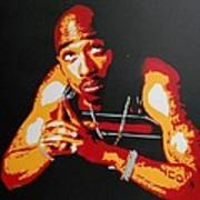 Tupac Pray For A Brighter Day Art Print