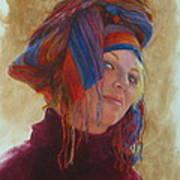 Turban 2 Art Print