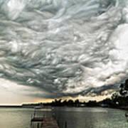 Turbulent Airflow Art Print by Matt Molloy