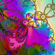 Turbulent Color 2 Art Print