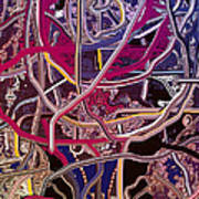 Turkish Carpet Revisited Art Print