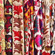 Turkish Textiles 02 Art Print