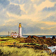 Turnberry Golf Course 9th Tee Art Print