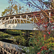 Turner's Covered Bridge Art Print