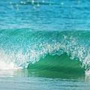 Turquois Waves  Art Print