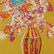 Turquoise Flower Art Print