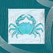 Turquoise Seashells Xix Art Print