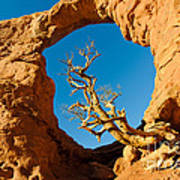 Turret Arch, Arches National Park Art Print