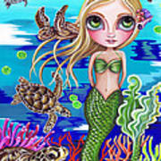 Turtle Cove Art Print