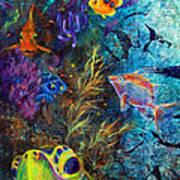 Turtle Wall 3 Art Print