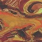 Tusany Dog Italy Art Print