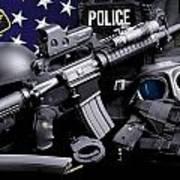 Tuscaloosa Police Print by Gary Yost