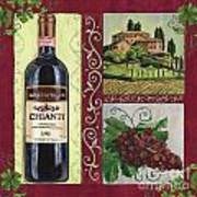 Tuscan Collage 1 Art Print