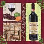 Tuscan Collage 2 Art Print
