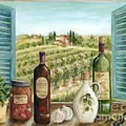 Tuscan Delights Print by Marilyn Dunlap